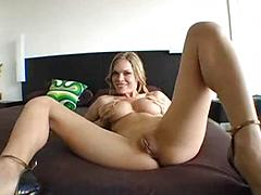 Two scenes of girls fingering and talking dirty for you