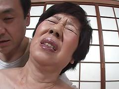 Asian Granny Gets Pussy Stimulation With A Vibrating Toy