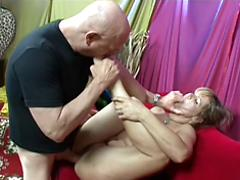 Man With A Foot Fetish Rails A Lucky Milf