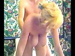 Blonde Gets Down And Dirty In The Bathtub