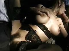 Steamy Scene Of Hot Milf Getting Fucked By Two Guys