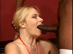 Woman With Large Tits Gets Fucked By A Black Cock