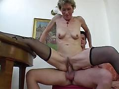 Mature Librarian Gets Her Twat And Asshole Fingered