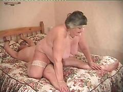 Big Breasted Granny Norma Loves To Ride A Hard Cock