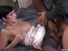 MILF With Short Hair Horny For A Good Dicking